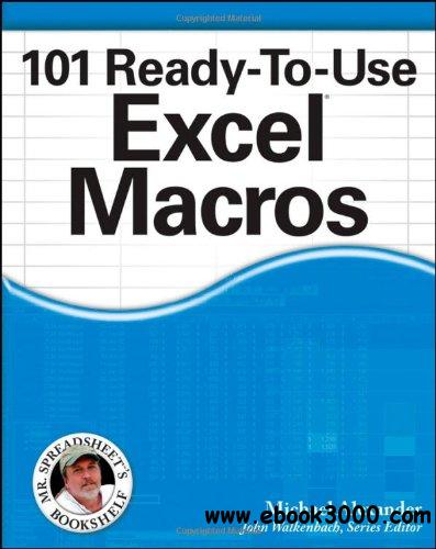 101 Ready-to-use Excel Macros free download