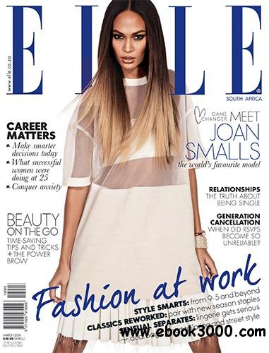 ELLE South Africa - March 2014 free download