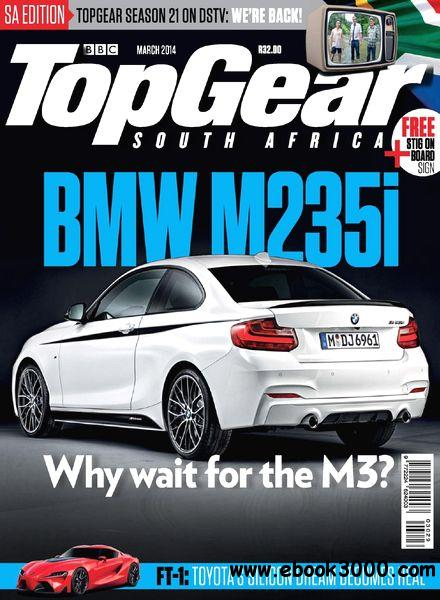 Top Gear South Africa - March 2014 free download
