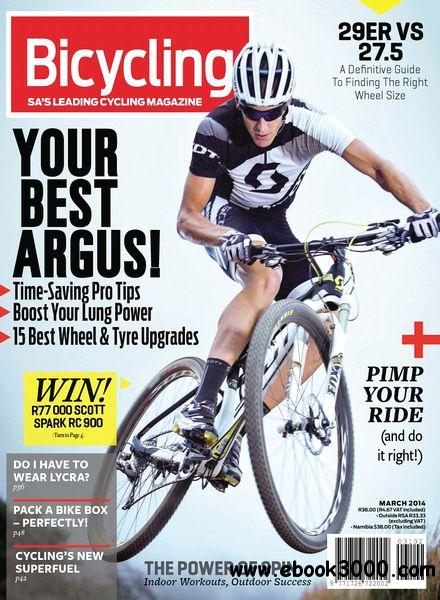 Bicycling South Africa - March 2014 free download