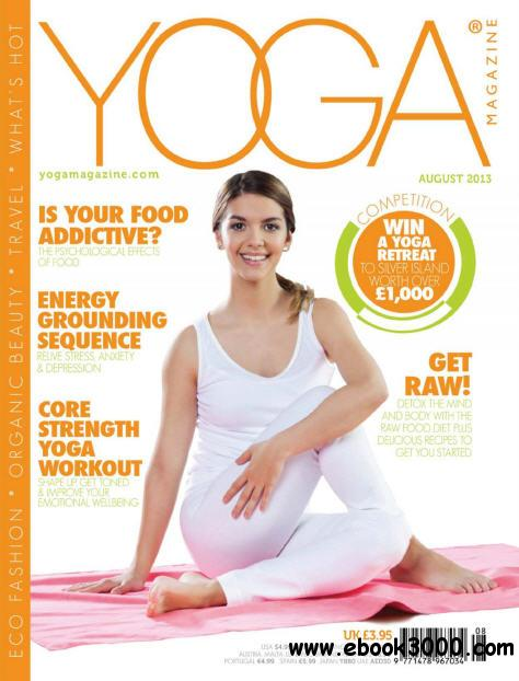 Yoga Magazine - August 2013 free download