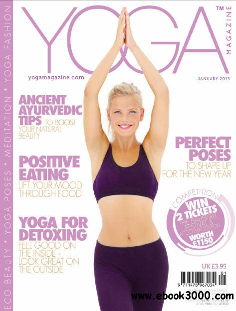 Yoga Magazine - January 2013 free download