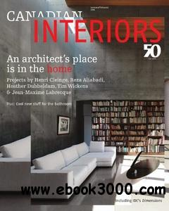 Canadian Interiors - January/February 2014 free download