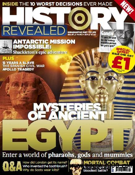 History Revealed Magazine Issue 01 free download