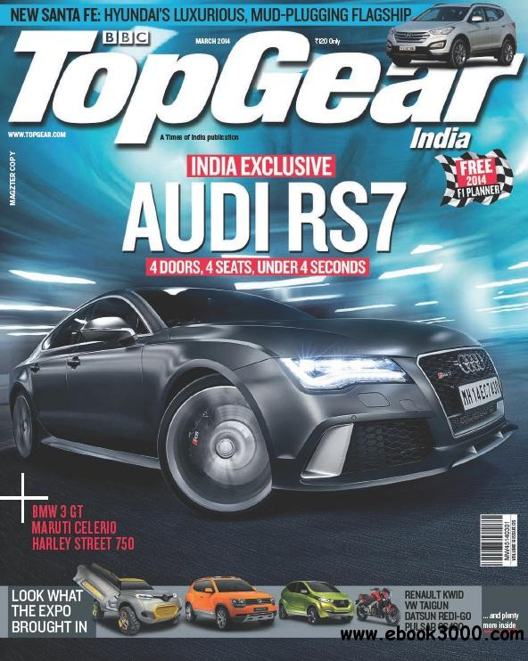 BBC TopGear India - March 2014 free download