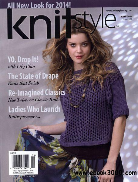 Knit`N Style - Issue 190 April 2014 free download