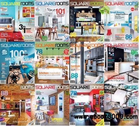 SquareRooms Magazine 2013 Full Collection free download
