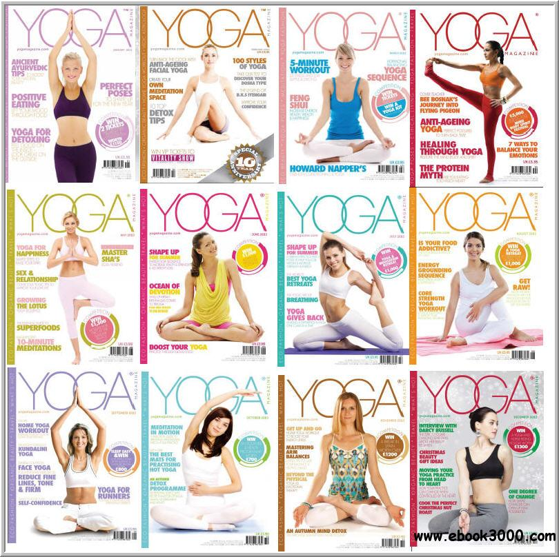 Yoga Magazine - Full Collection 2013 free download