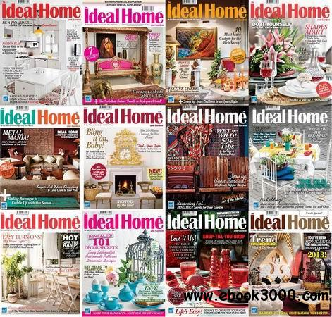 The Ideal Home and Garden Magazine 2013 Full Collection free download