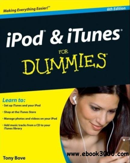 iPod & iTunes For Dummies (6th edition) free download