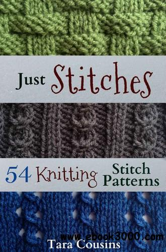 Just Stitches: 54 Knitting Stitch Patterns free download