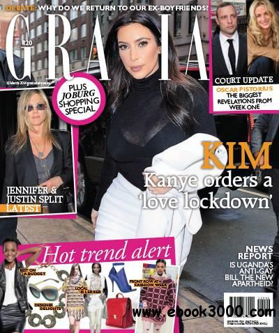 Grazia - 19 March 2014 / South Africa free download