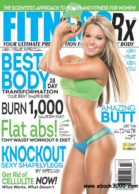 Fitness Rx for Women - February 2014 free download