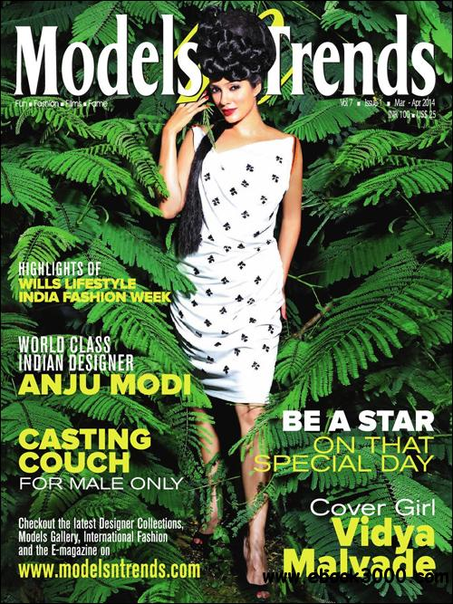 Models n Trends - March - April 2014 free download