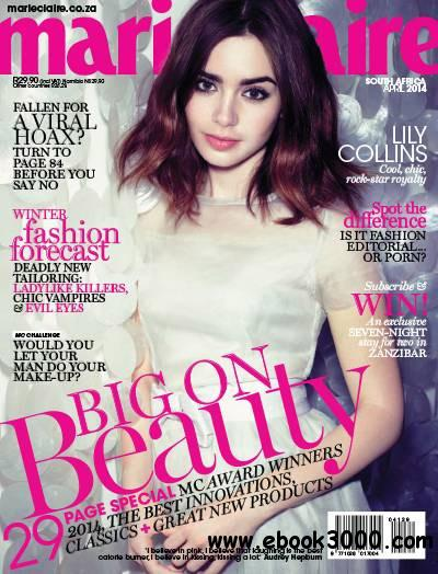 Marie Claire South Africa - April 2014 free download