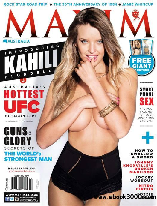 Maxim Australia - April 2014 free download
