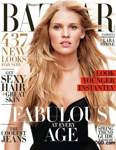 Harper's Bazaar USA - April 2014 free download