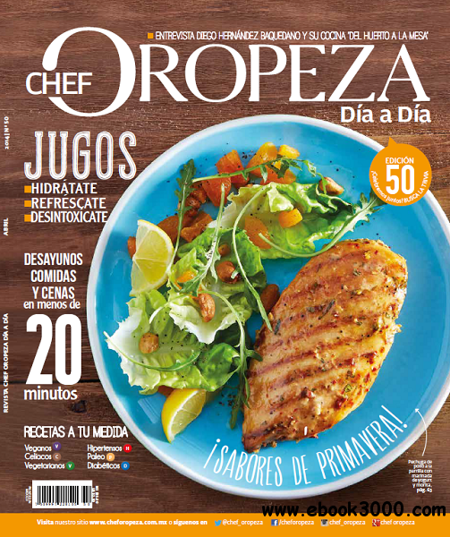 Dia a Dia Chef Oropeza - Abril 2014 free download