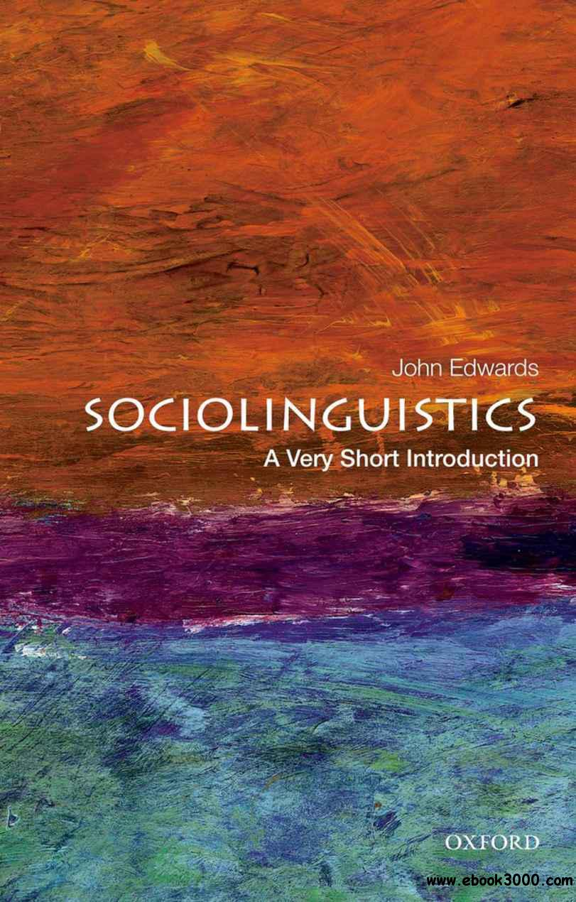 Sociolinguistics: A Very Short Introduction free download