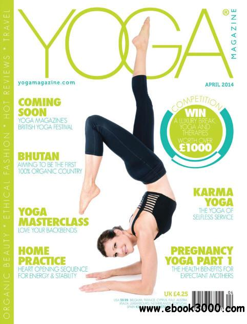 Yoga Magazine April 2014 free download
