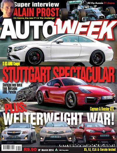 Autoweek - 27 March 2014 / South Africa download dree