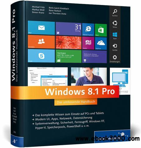 Windows 8.1 Pro Das umfassende Handbuch free download