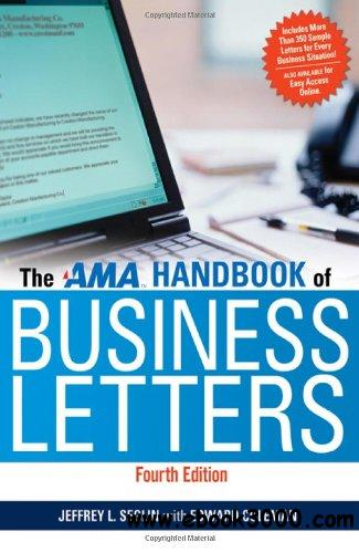 AMA Handbook of Business Letters (4rth Edition) free download