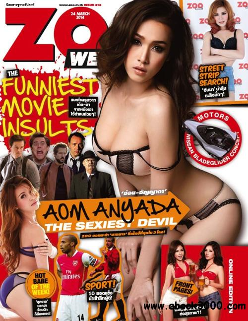 Zoo Weekly Thailand - 24 March 2014 free download