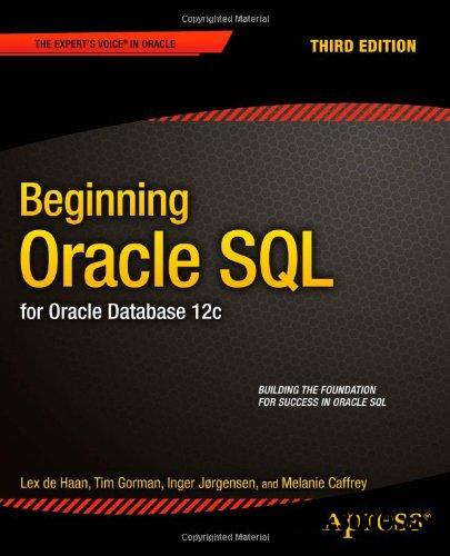 Beginning Oracle SQL: for Oracle Database 12c, 3 edition free download