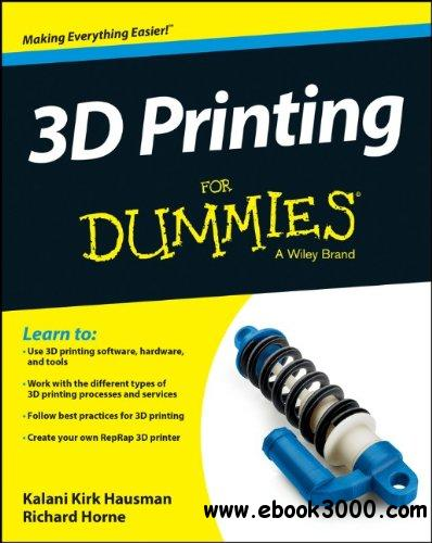 3D Printing For Dummies free download