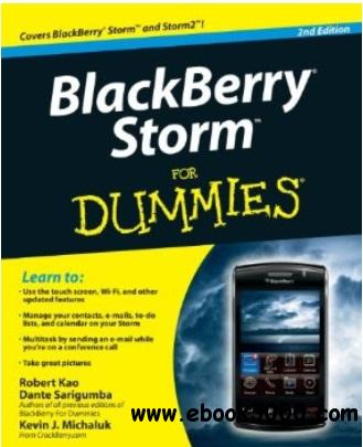 BlackBerry Storm For Dummies (2nd edition) free download