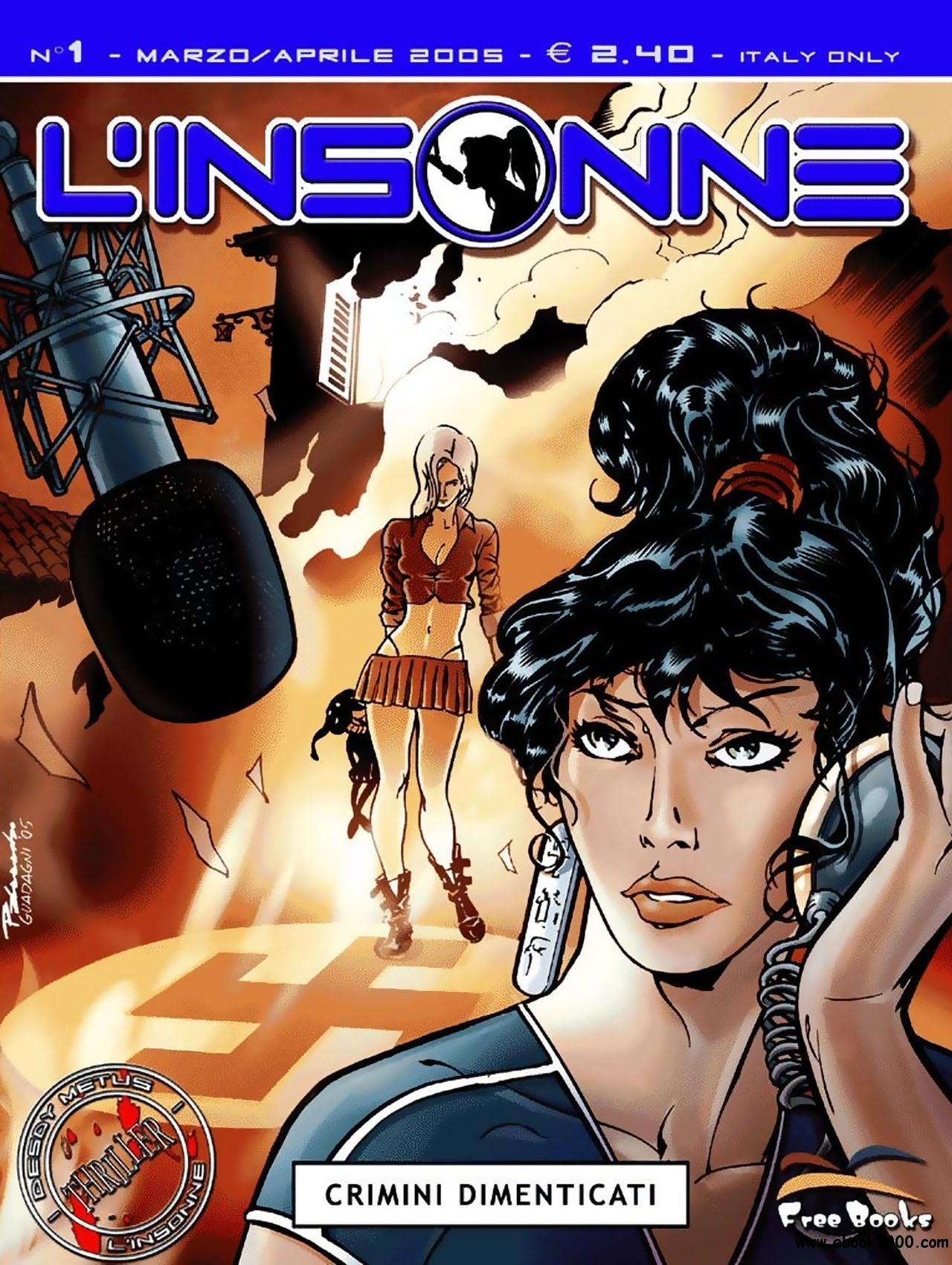 L'Insonne - Volume 1 - Crimini Dimenticati (Seconda Serie) free download