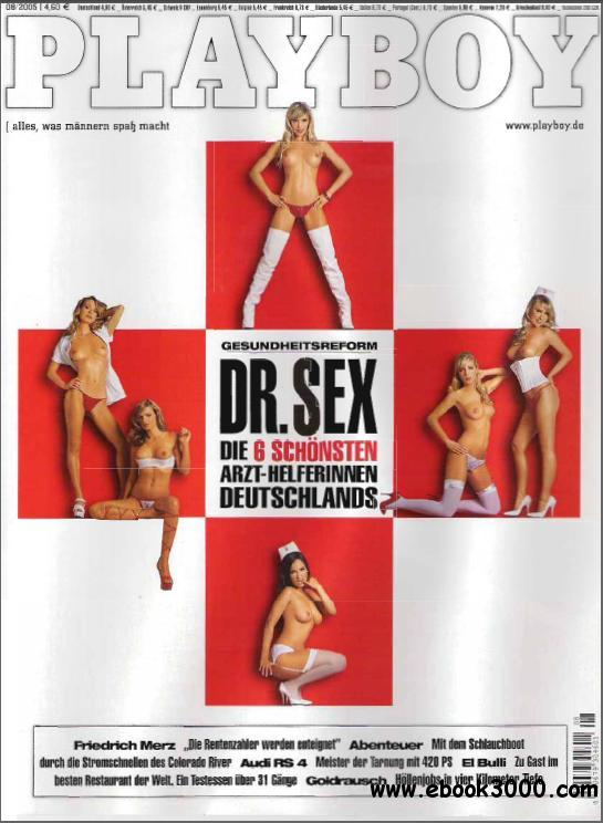 Playboy Germany - August 2005 free download