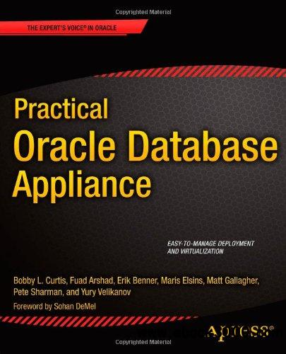 Practical Oracle Database Appliance free download