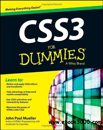 CSS3 For Dummies free download