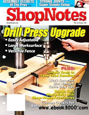 ShopNotes #135 - May/June 2014 free download