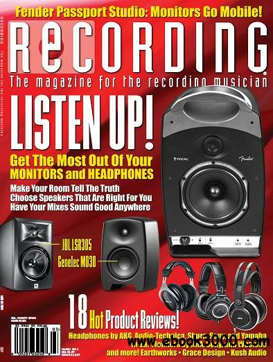 Recording Magazine March 2014 free download