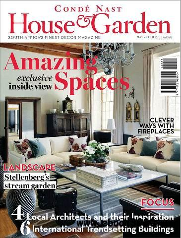 Conde Nast House & Garden Magazine May 2014 free download