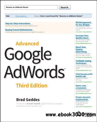 Advanced Google AdWords, 3rd Edition free download