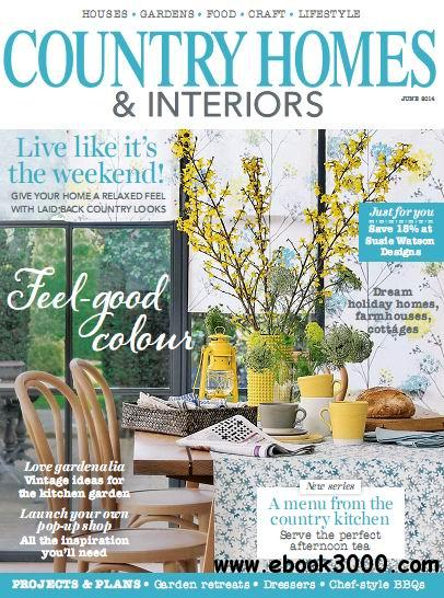 Country Homes & Interiors Magazine June 2014 free download