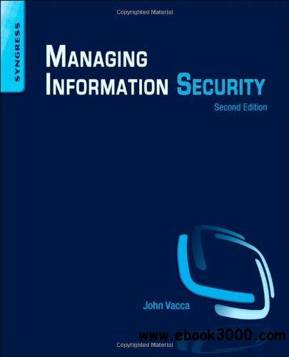 Managing Information Security, 2nd edition free download