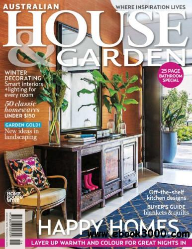 House & Garden Australia - June 2014 free download