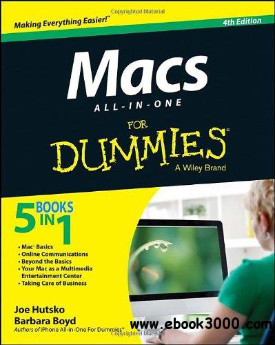 Macs All-in-one For Dummies, 4th Edition free download