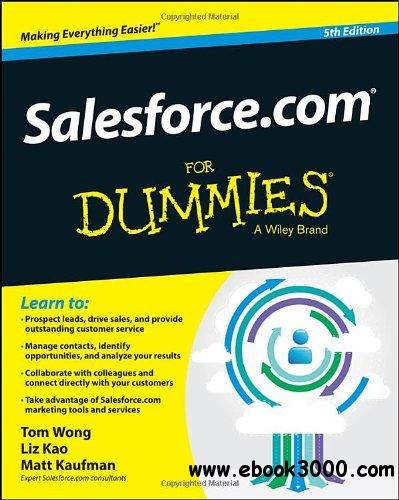 Salesforce.com For Dummies, 5th Edition free download