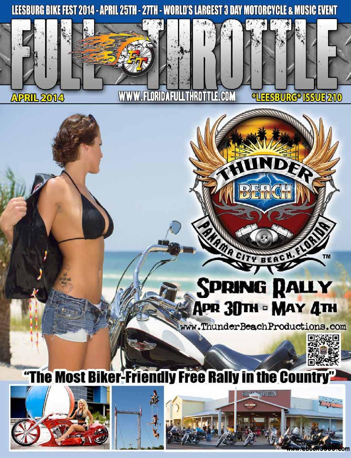 Full Throttle - April 2014 Issue 210 free download