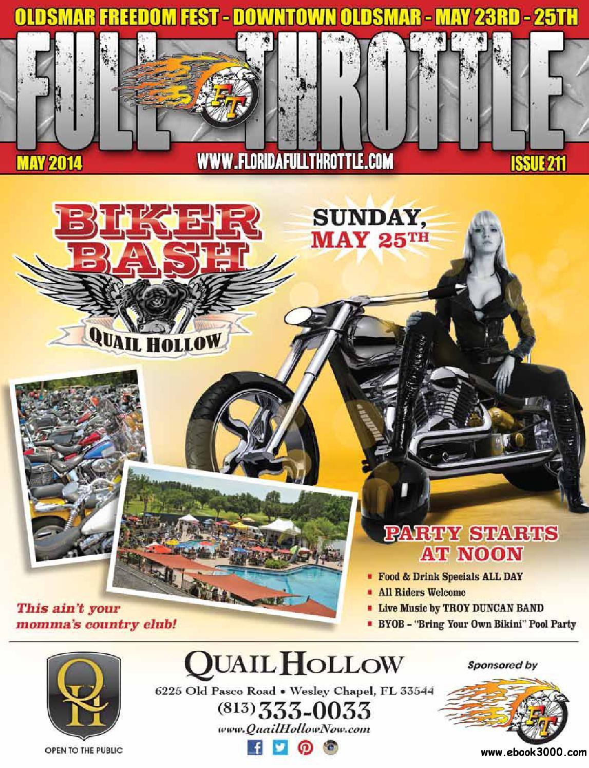 Full Throttle - May 2014 Issue 211 free download