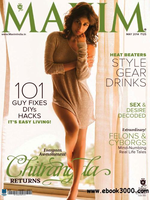 Maxim India - May 2014 free download