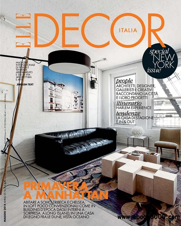 Elle Decor Italia - Maggio 2014 free download