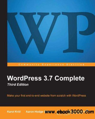 WordPress 3.7 Complete: Third Edition free download