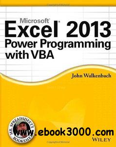 Excel 2013 Power Programming with VBA free download